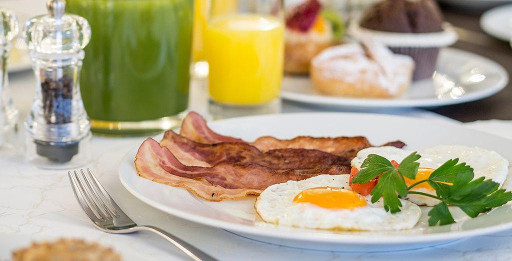 Votre petit-déjeuner gourmand vous donnera toute l'énergie nécessaire à la visite de Vienne
