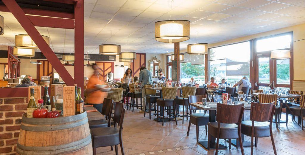 Offrez-vous une pause gourmande au restaurant du village-club