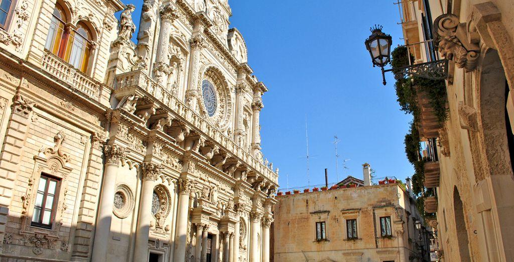 Une ville baroque chargée d'histoire