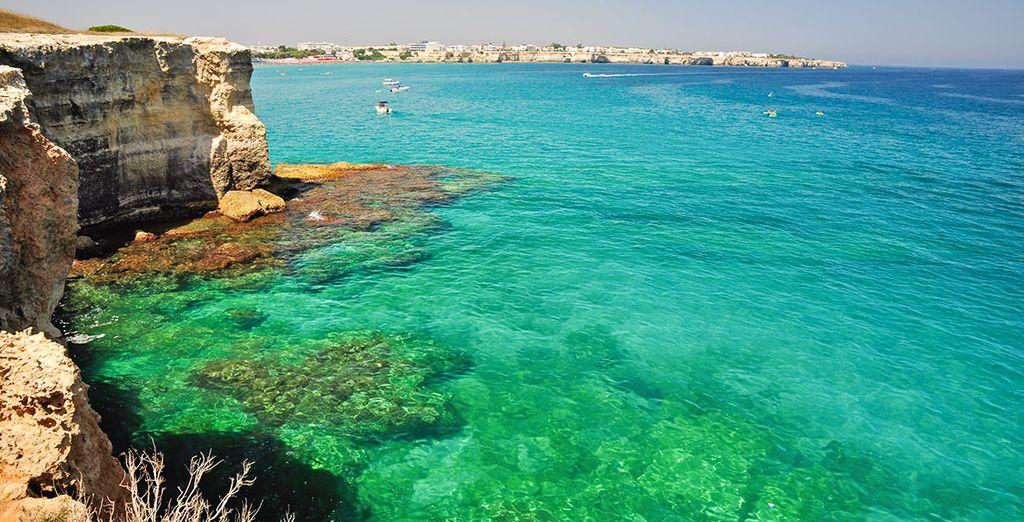 Jusqu'aux belles eaux turquoise