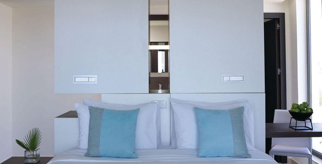 Des espaces à la décoration relaxante et moderne, au style méditérranéen