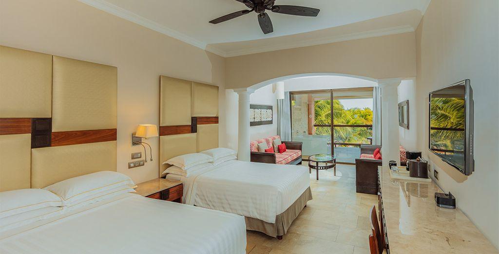 Ou en Junior Suite Ocean Front Beach Caribe