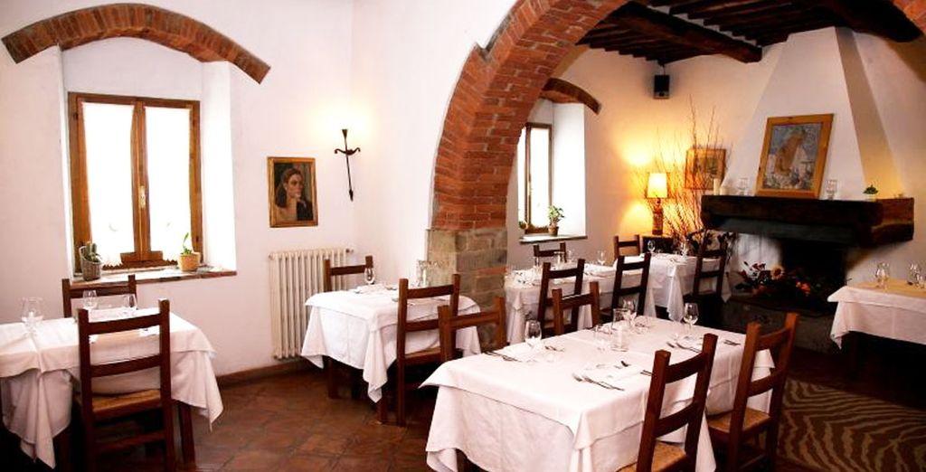 Le restaurant saura parfaitement allier ses plats et ses vins