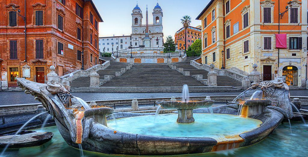 Venez tenter votre chance à Rome !