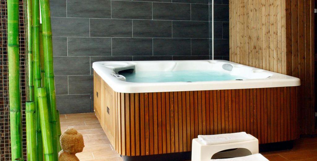 Ainsi que du spa pour des instants relaxants