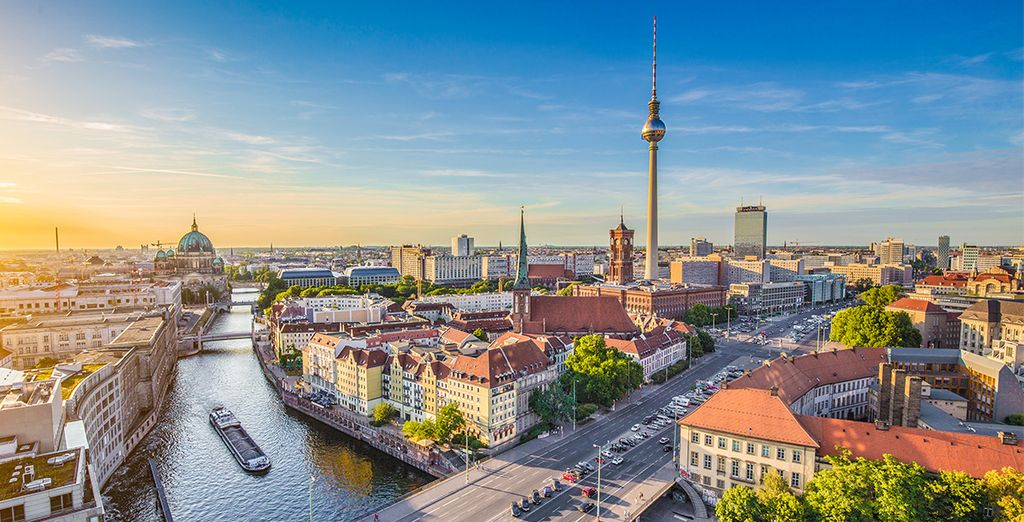 Venez arpenter les grandes rues de la capitale allemande...