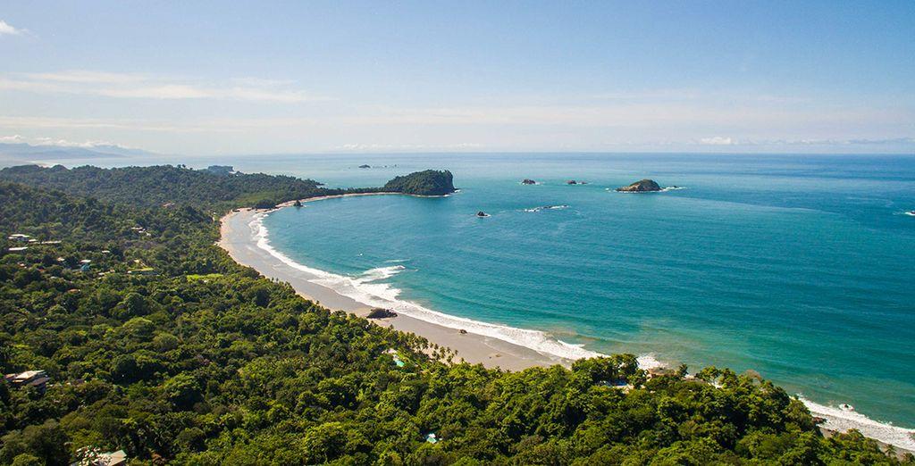 Aux plages de Manuel Antonio côté Pacifique