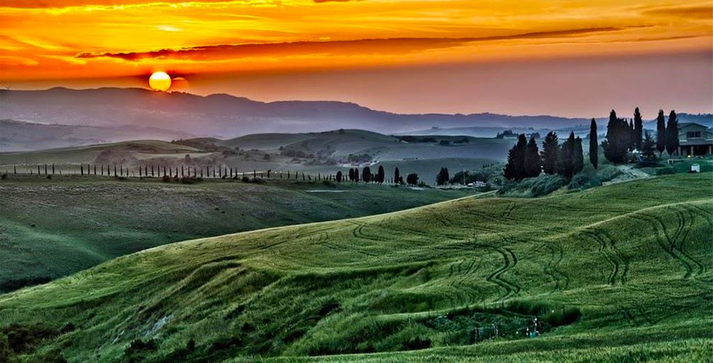 C'est toute la Toscane qui s'offre à vous !