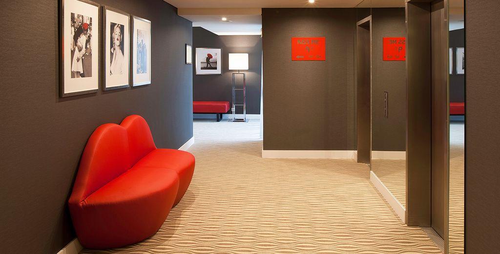 Et l'hôtel Lutecia Smart Design 4*