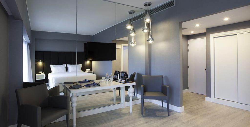 En chambre Premium Design