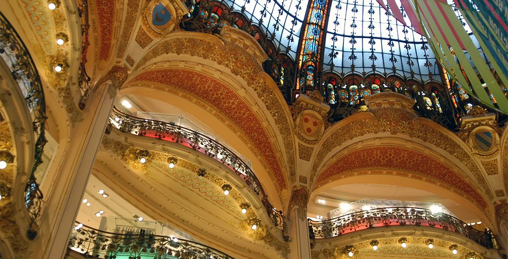 Ou shopping aux Galeries Lafayettes