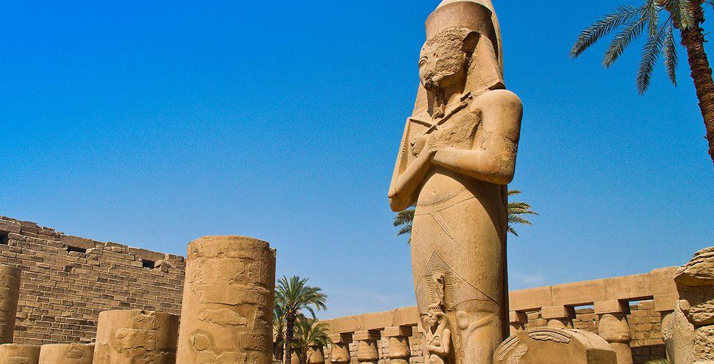 Vous pourrez aussi prolonger l'évasion en découvrant les trésors égyptiens