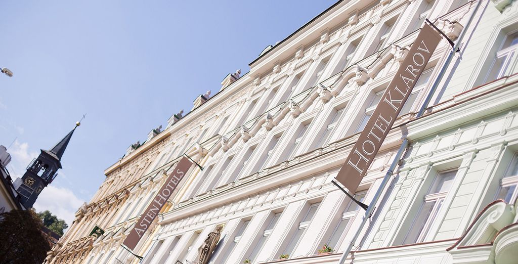 Au superbe hôtel 4* Klarov...