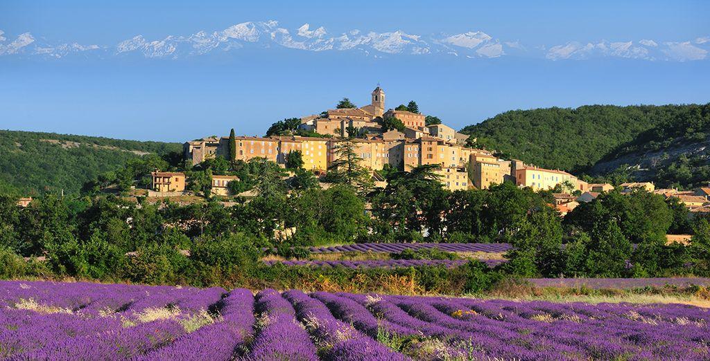 Rendez-vous en Provence, dans le charmant village de Saint-Rémy...