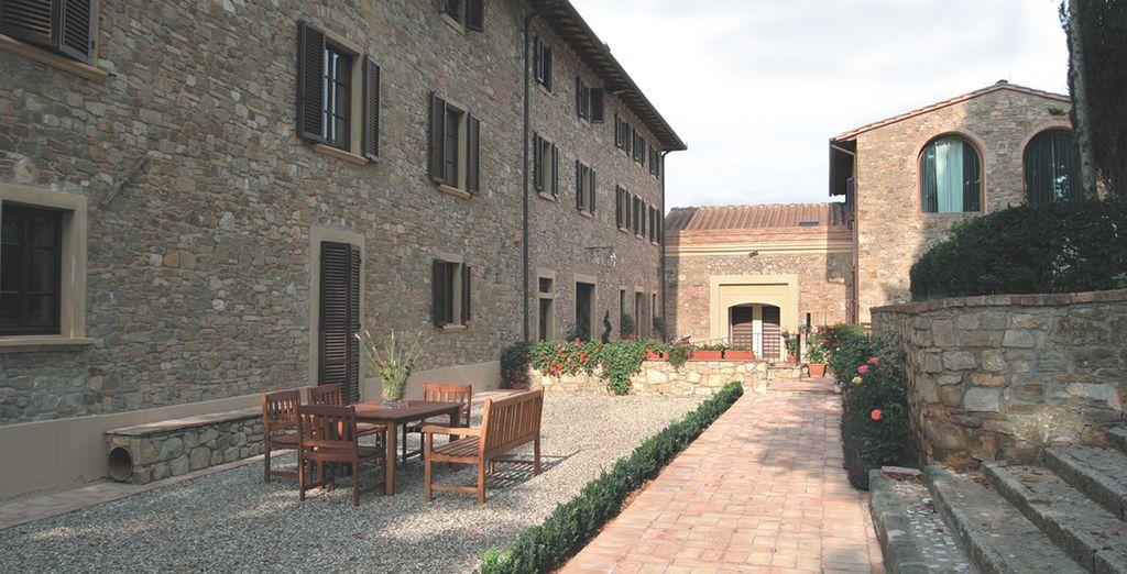Vous logerez à l'Hôtel Villa San Filippo 4*