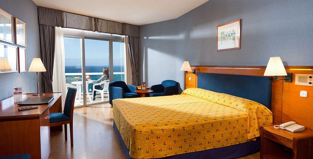 Placez vos vacances sous le signe du confort en chambre Standard