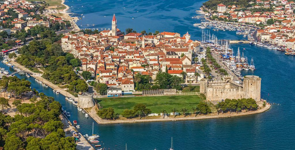 Et découvrir la région : la cité médiévale de Trogir