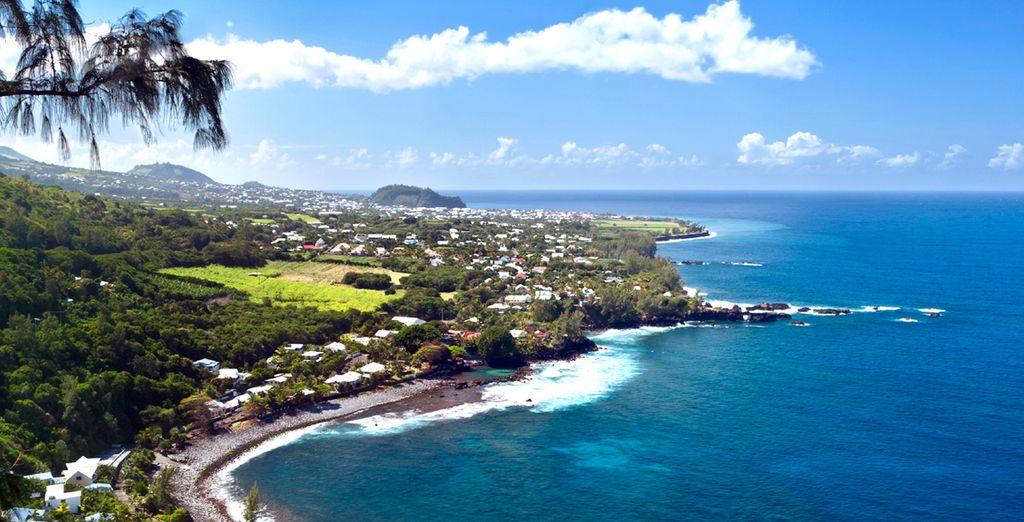 Bienvenue sur l'île de La Réunion !
