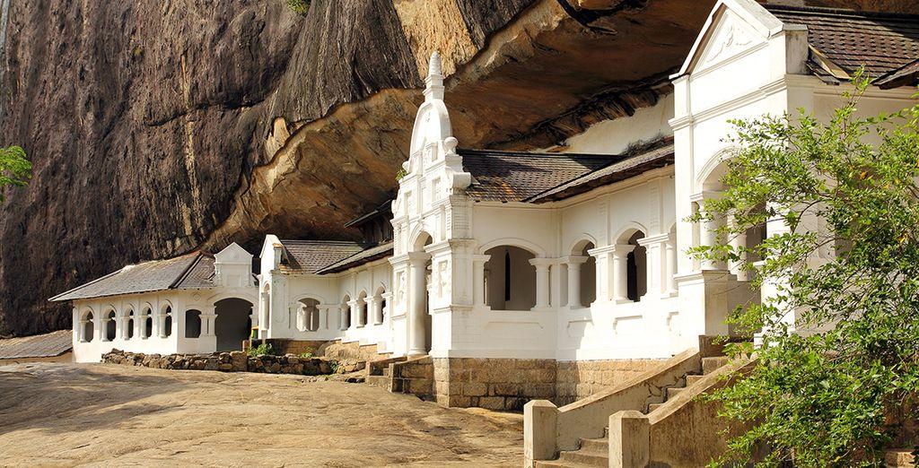 Et ses grottes transformées en temples