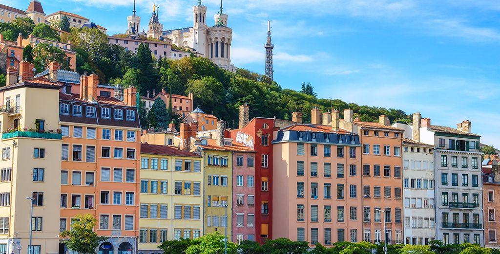 Avant de partir à la découverte de la ville de Lyon, classées au patrimoine de l'UNESCO