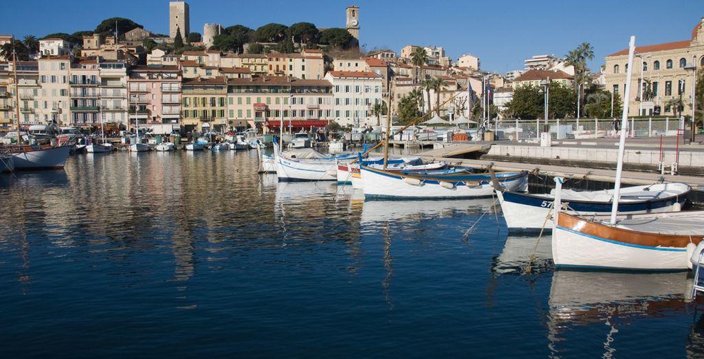 Ou encore Cannes et son vieux port...