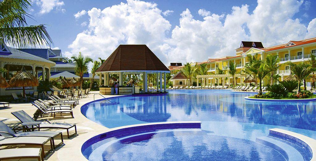 Bienvenue chez vous dans le cadre luxueux du Luxury Bahia Principe Esmeralda