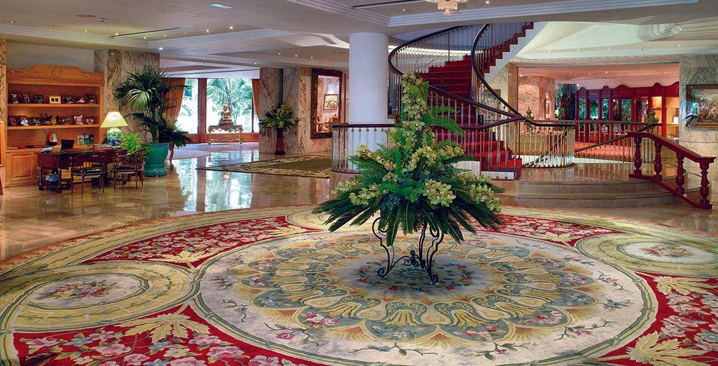 Vous apprécierez les grands espaces de l'hôtel