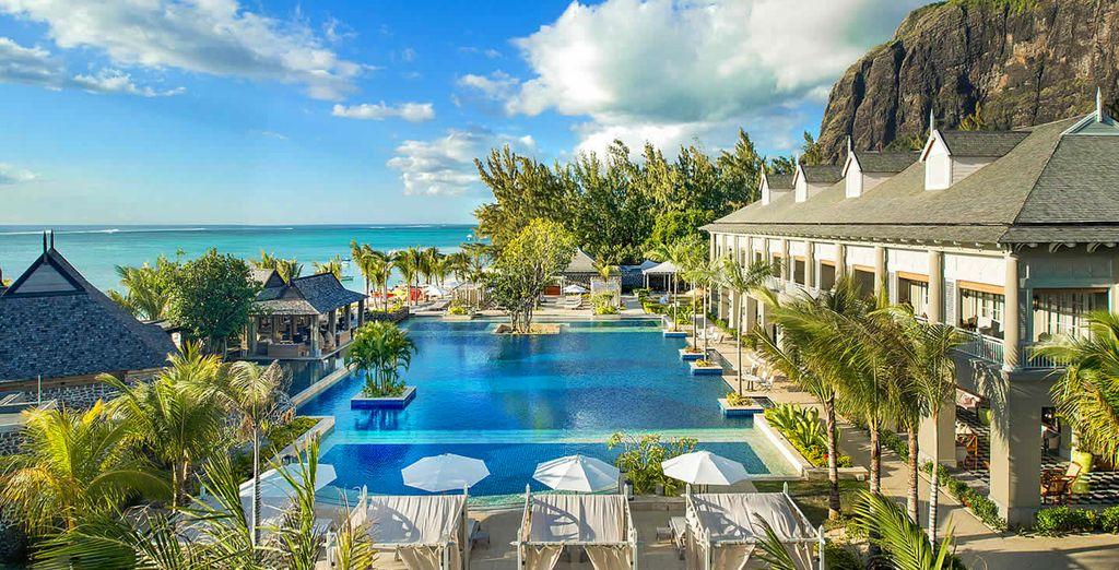 Dans le cadre magique du St. Régis Mauritius Resort