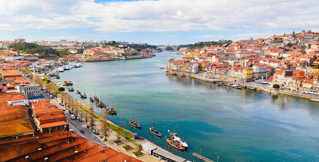 Tout en vous laissant bercer par le Douro