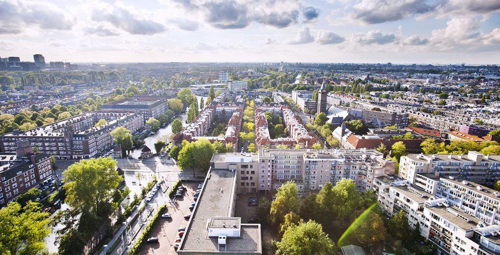 Dans l'un des quartiers centraux les plus chics d'Amsterdam