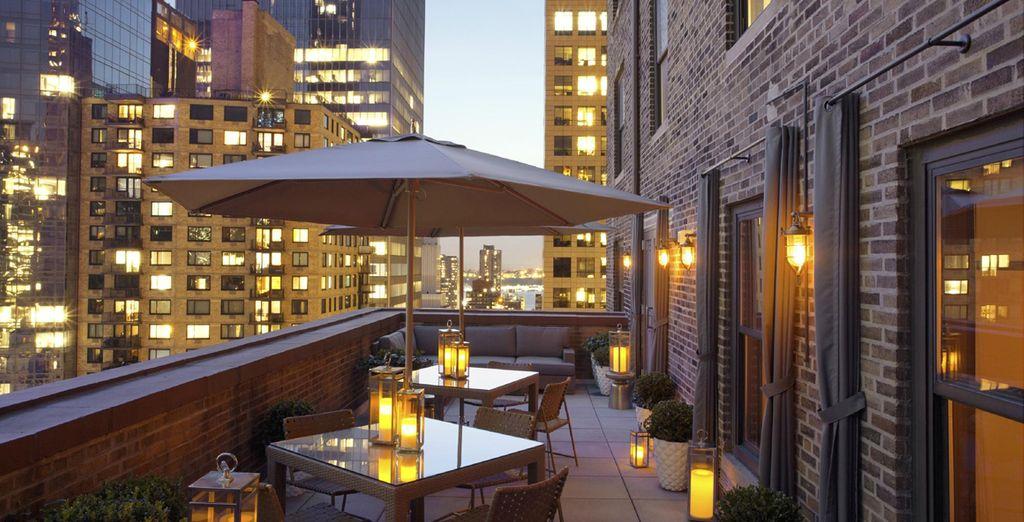 Hôtel haut de gamme cinq étoiles avec restaurant gastronomique, New York