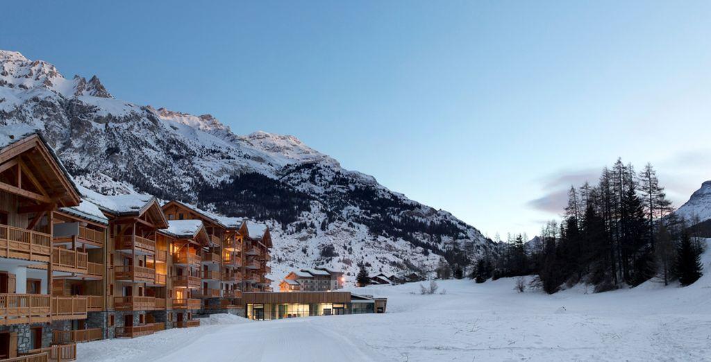 Val Cenis vous accueille dans une résidence skis aux pieds, au cœur du Parc de la Vanoise