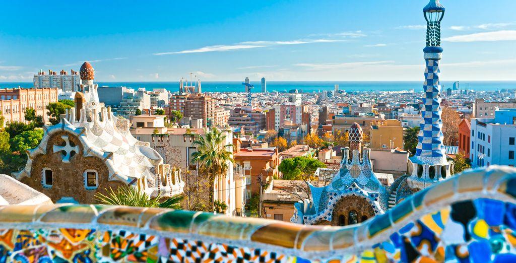 Avant de partir à la découverte de Gaudi au fabuleux Parc Güell !