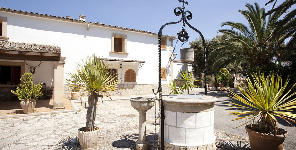 Un petit havre de tranquillité... L'Hôtel Sa Bassa Plana
