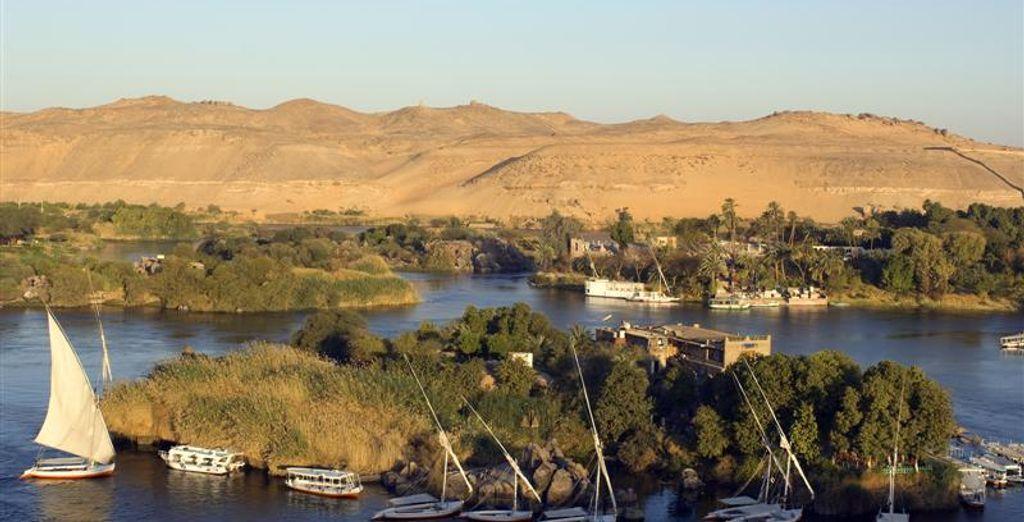 Vue sur une partie du Nil