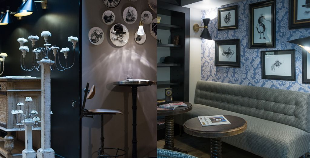 Pénétrez dans un hôtel à la décoration singulière