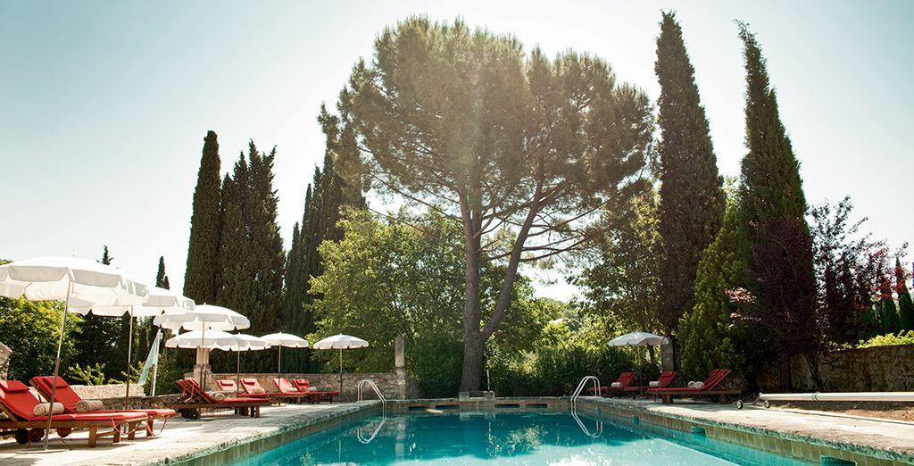 Une demeure au charme typiquement provençal où il fait bon vivre