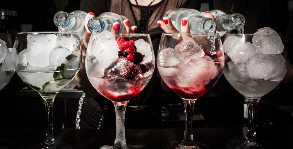 Où vous siroterez un succulent cocktail au Sky Bar