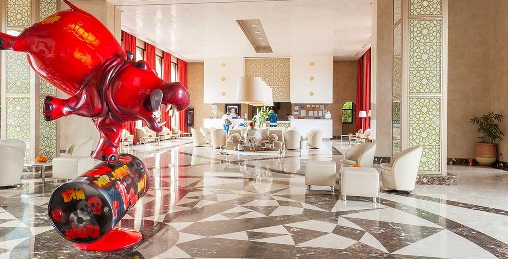 Un hôtel des plus luxueux