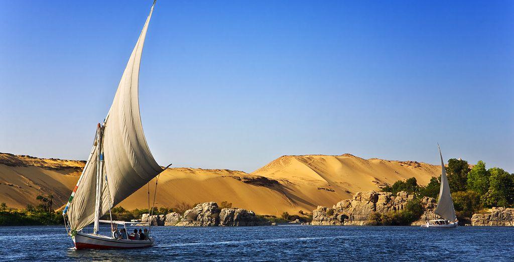 Et pour les aventuriers, craquez pour notre combiné avec croisière Rêverie du Nil