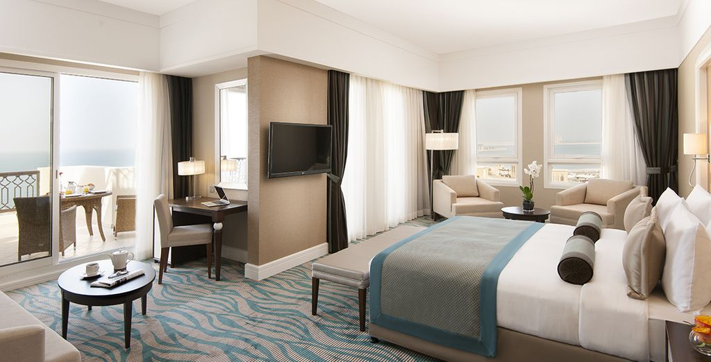 Pour rendre votre séjour encore plus beau, nous vous surclassons en chambre Premium Garden