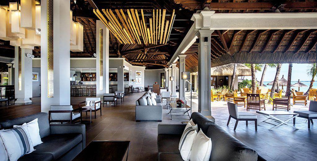 Un hôtel de luxe où règnent volupté et intimité