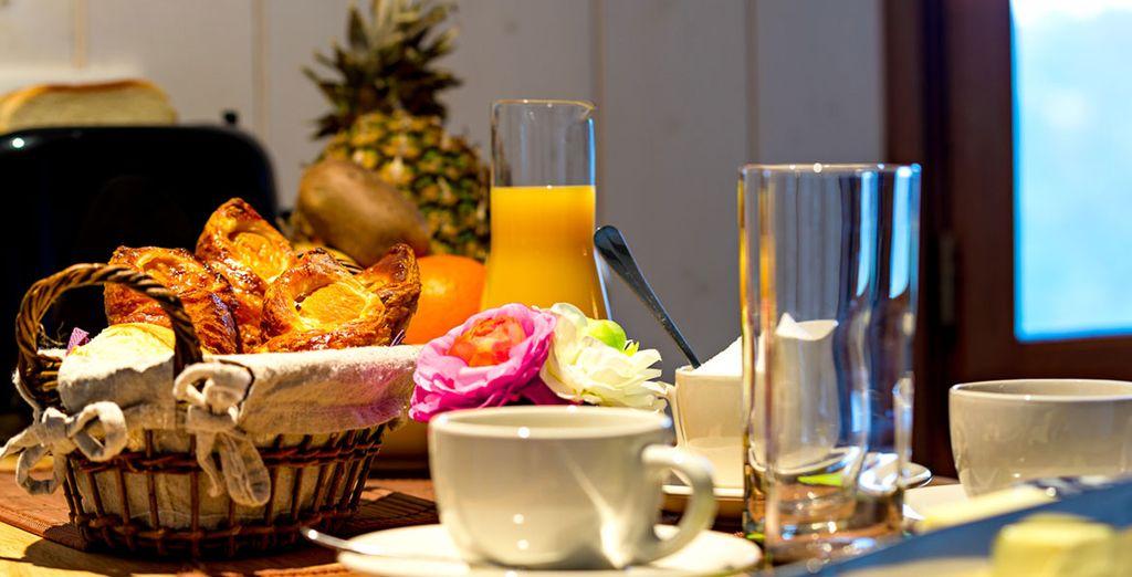 Commencez la journée avec un délicieux petit-déjeuner