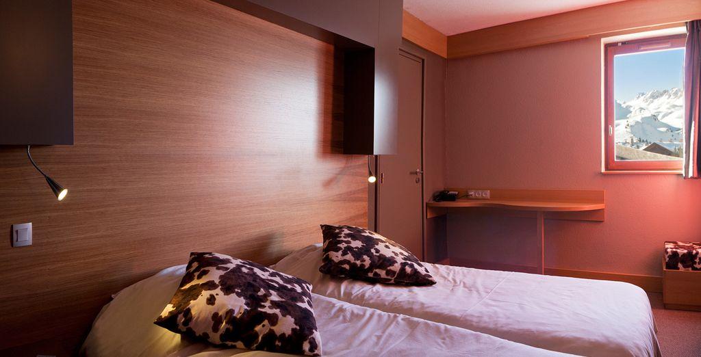Vous séjournerez en agréable chambre Grand Confort