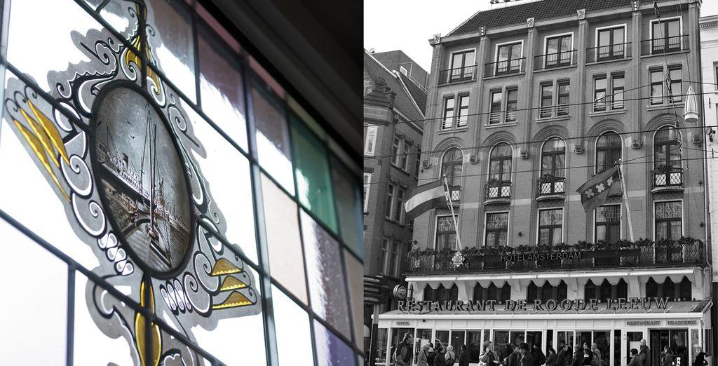 L'hôtel Amsterdam Roode de Leeuw vous attend...