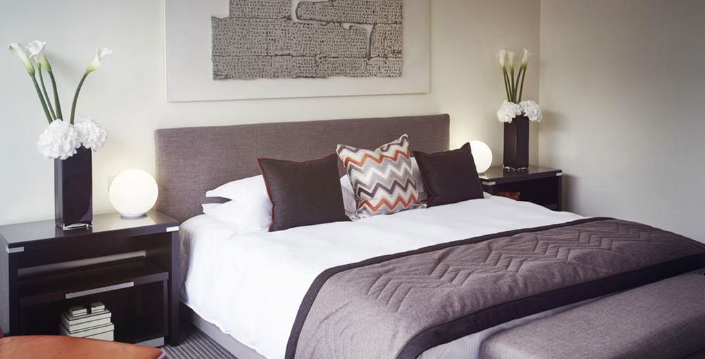 Spacieuse et confortable, votre chambre Supérieure