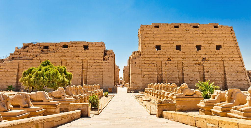 Ou le temple de Karnak