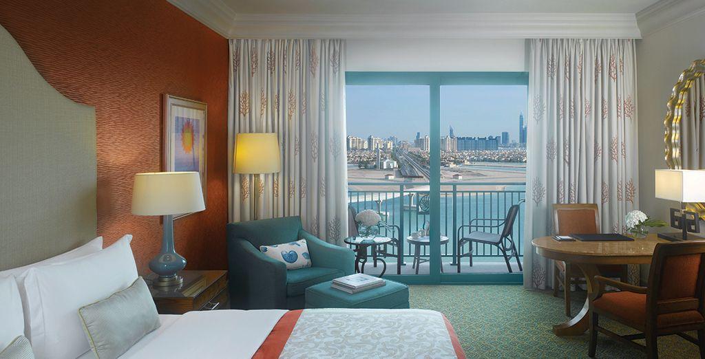 Dans la magnifique chambre Palm Beach Deluxe !