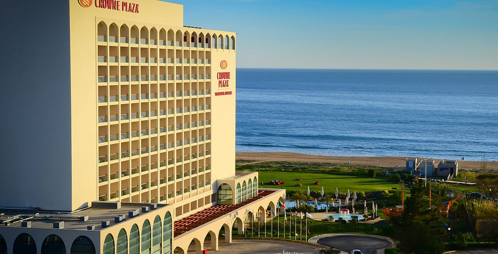 Depuis votre hôtel en bord de mer