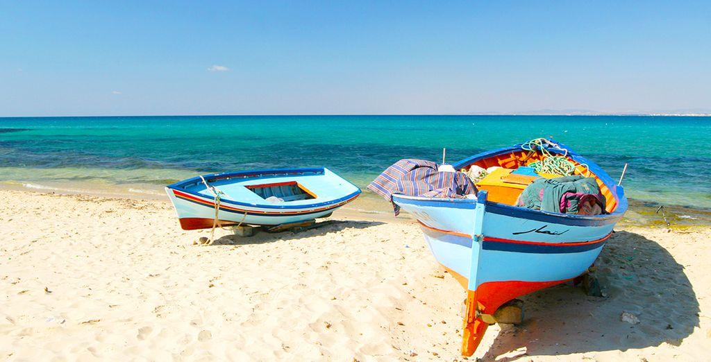 Flânez sur une plage de sable